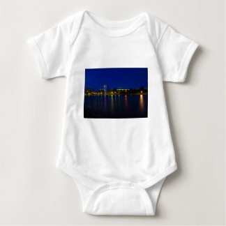 Wichita Cityscape Baby Bodysuit