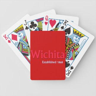 Wichita Established Bicycle Playing Cards