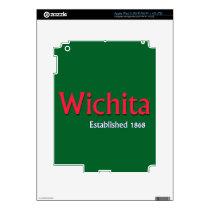 Wichita iPad 3 Skin Template