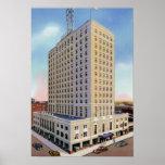 Wichita Kansas Allis Hotel Poster