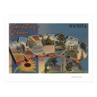 Wichita, Kansas - escenas grandes de la letra Tarjeta Postal