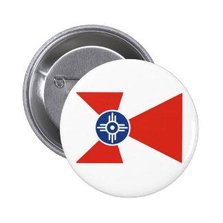 Wichita Kansas.jpg Pin Redondo De 2 Pulgadas