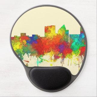 Wichita Kansas  Skyline-SG Gel Mouse Pad