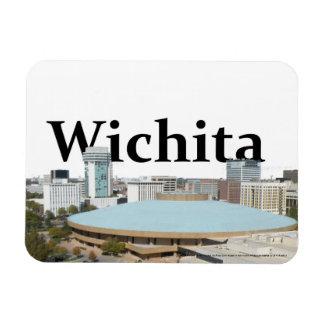 Wichita Kansas Skyline with Wichita in the Sky Magnet