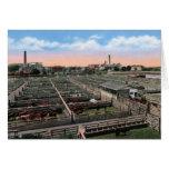 Wichita Kansas Stockyards Greeting Card
