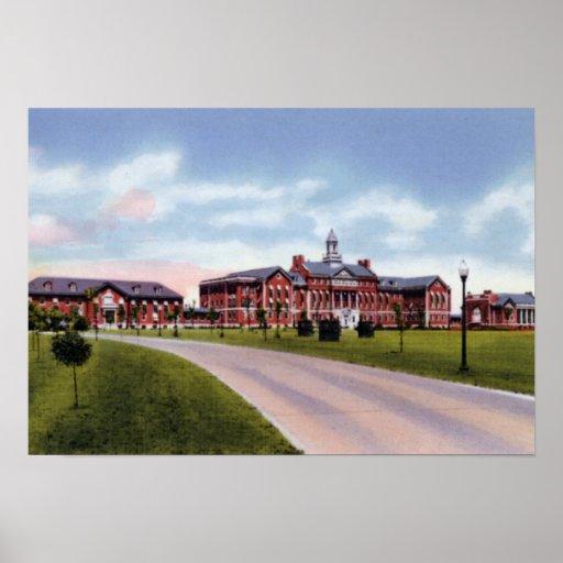 Wichita Kansas Veterans Hospital Poster