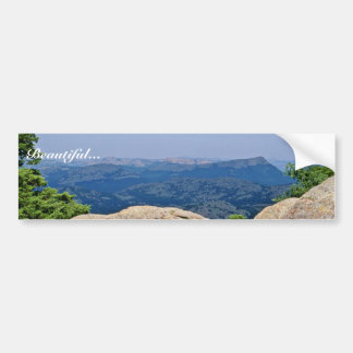 Wichita Mountains National Wildlife Refuge Bumper Sticker