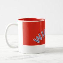 Wichita Red and White 11 oz Two-Tone Mug
