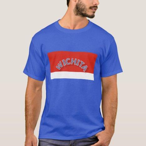 Wichita Red and White Dark T-Shirt