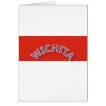 Wichita Red and White Greeting Card