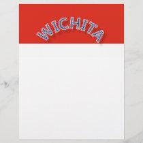 Wichita Red and White Letterhead