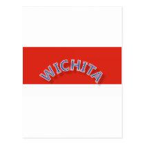 Wichita Red and White Postcard