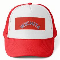 Wichita Red and White Trucker Hat - Cap