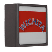"""Wichita RW 3"""" Square Premium Gift & Jewelry Box"""