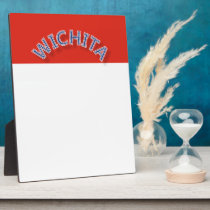 Wichita Tabletop Plaque with Easel