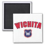 Wichita Throwback Refrigerator Magnet