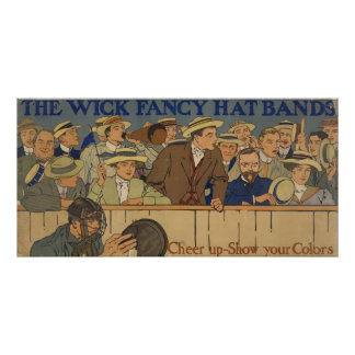 Wick Fancy Hat Bands Poster