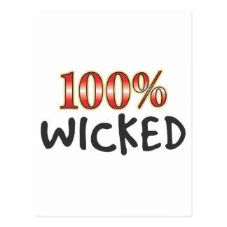 Wicked 100 Percent Postcard