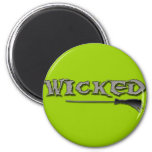 WICKED 2 INCH ROUND MAGNET