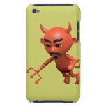 Wicked 3d Devil Flying (editable) iPod Case-Mate Cases