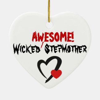 Wicked Awesome Stepmother Christmas Ornaments