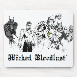 Wicked Bloodlust Mouse Pad