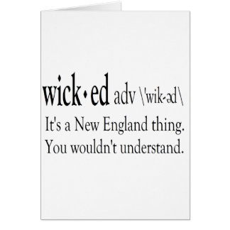 wicked card