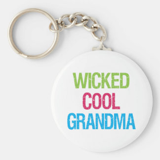 Wicked Cool Grandma Keychain