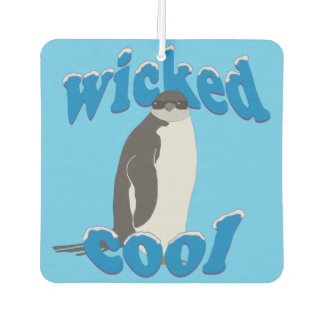 Wicked Cool Penguin Air Freshener