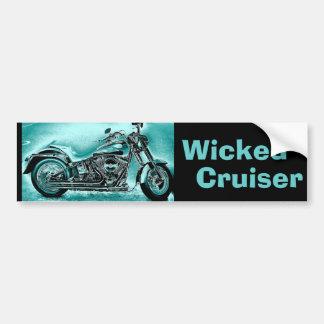 wicked Cruiser Car Bumper Sticker