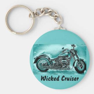 Wicked Cruiser Keychain