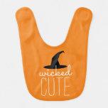 Wicked Cute Halloween Bib