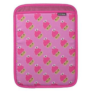 Wicked Cute Kawaii Cupcake Rickshaw iPad Sleeve
