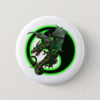 Wicked Dragon Design Button