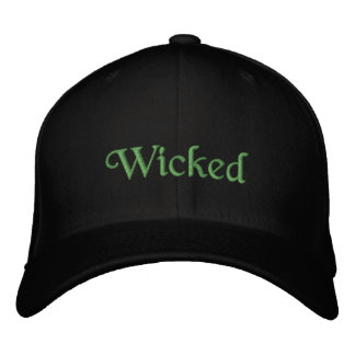 Wicked Embroidered Hat