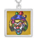 Wicked Evil Clown Personalized Necklace