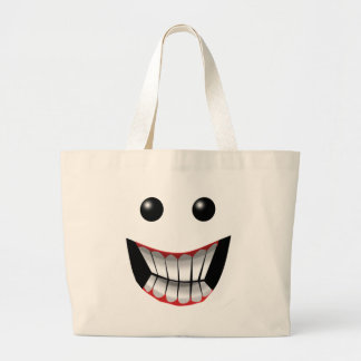 WICKED FACE TOTE BAGS