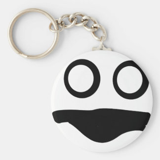 Wicked Face Keychain
