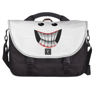 WICKED FACE LAPTOP COMMUTER BAG