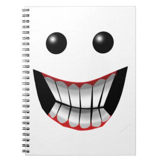 WICKED FACE NOTEBOOKS
