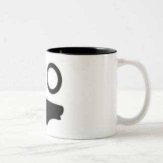 Wicked Face Two-Tone Coffee Mug