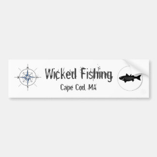 Wicked Fishing Sticker