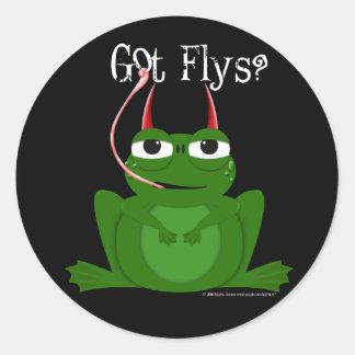 Wicked Frog Reward Stickers