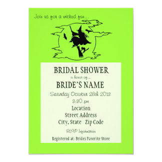 Wicked Fun Bridal Shower Invitation