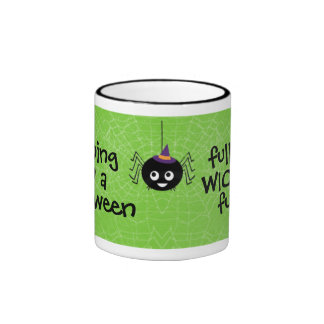 wicked fun halloween mug