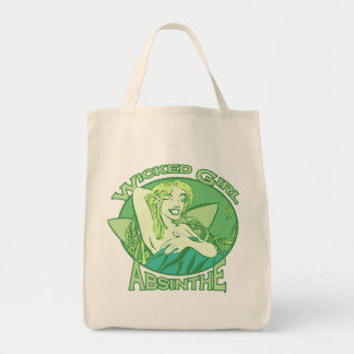 Wicked Girl Absinthe Tote Bag