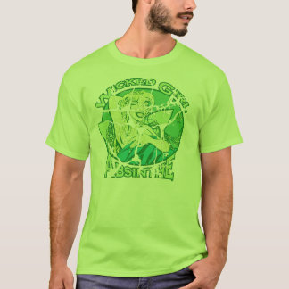 Wicked Girl Absinthe Vintage T-Shirt
