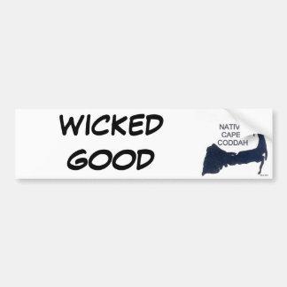 WICKED GOOD Native Cape Coddah Bumper Sticker