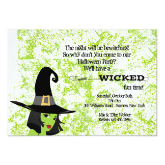 Wicked Good Time Halloween Party Invitation