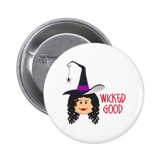 WICKED GOOD WITCH BUTTON